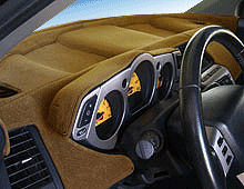 Sedona Suede Dashboard Cover