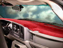 Velour Dashboard Cover